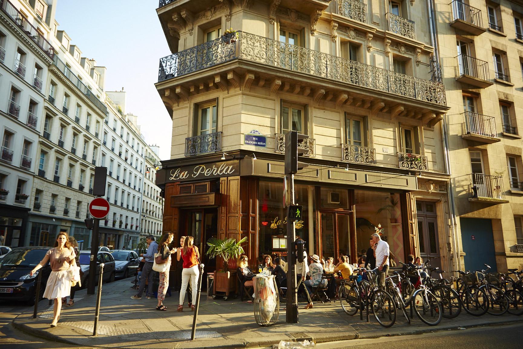 La perla paris english terrace for English terrace