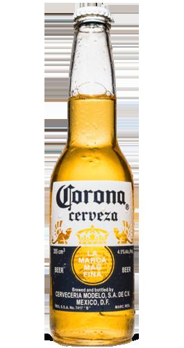 La bière Corona sans virus à La Perla Bar Paris, click and collect